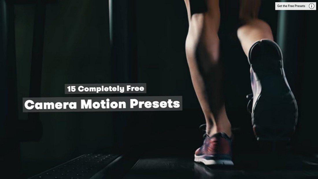 15 Free Camera Shake Presets for Premiere Pro