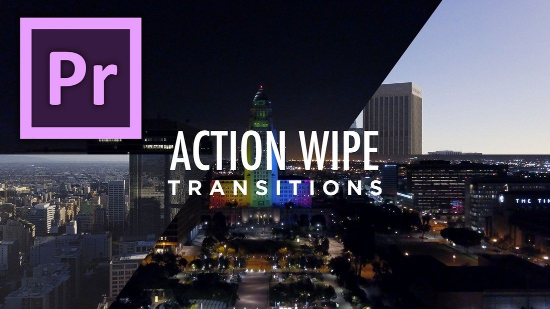 Action Wipe Transition - Free Preimere Pro Template