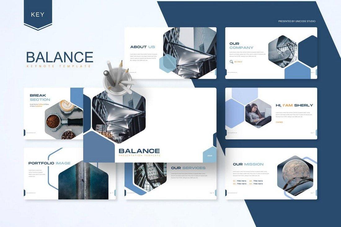 Balance - Business Keynote Template