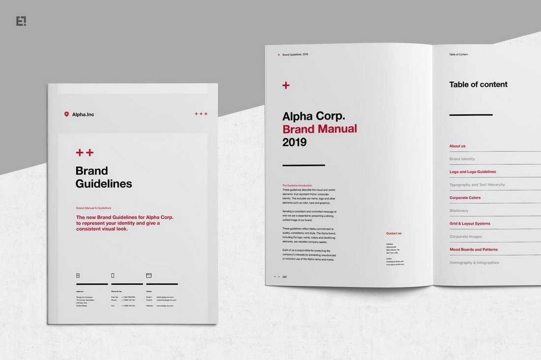 Brand Guidelines - Affinity Publisher Brochure Template