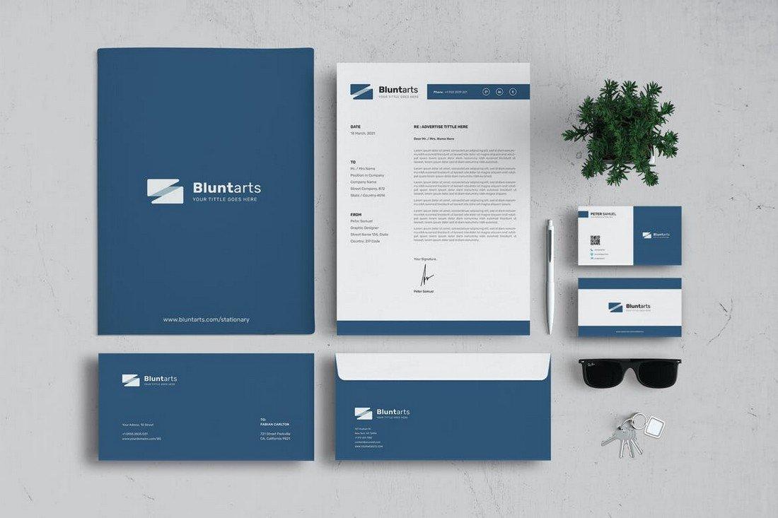 Branding Identity & Stationery Template Kit