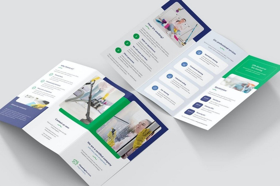 Brochure - Tri-Fold Affinity Publisher Template