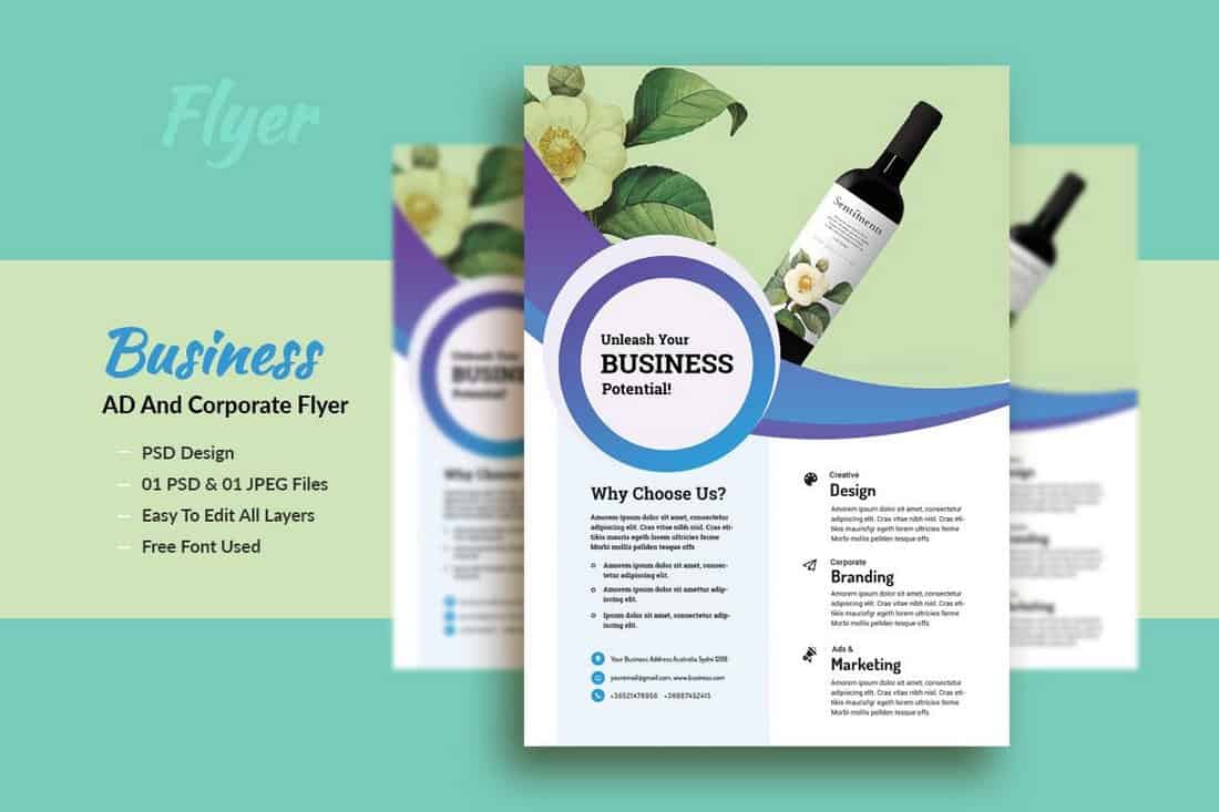 Business AD & Corporate Flyer Template