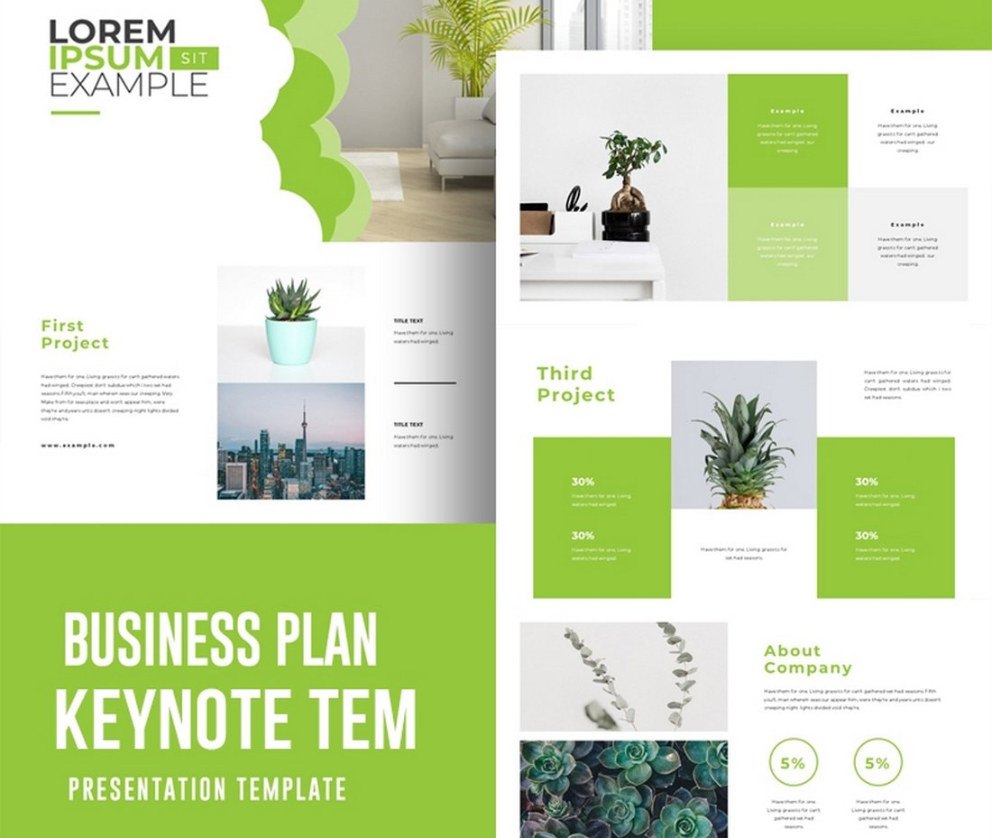 Business Plan - Free Keynote Template