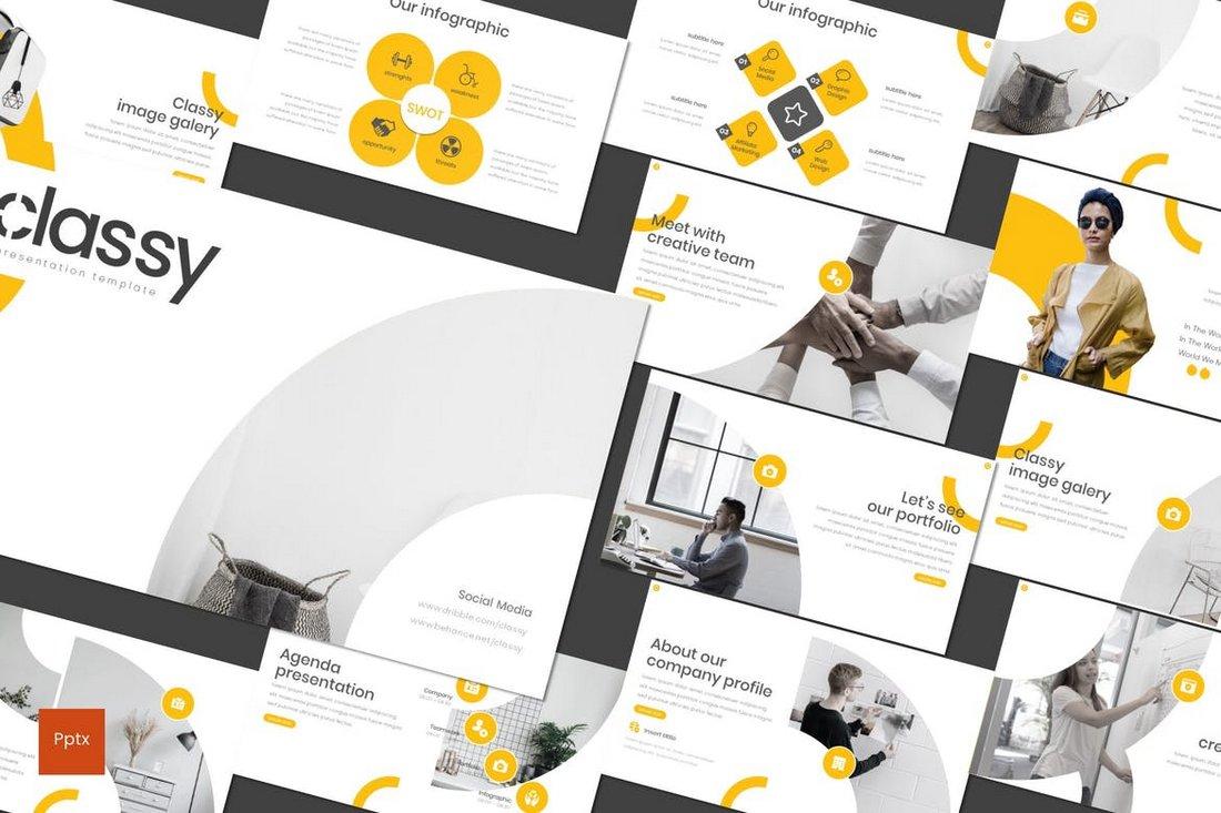 Classy - Modern PowerPoint Template