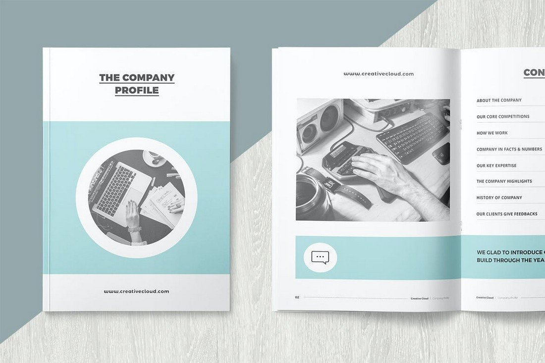 Company Profile - Affinity Publisher Template
