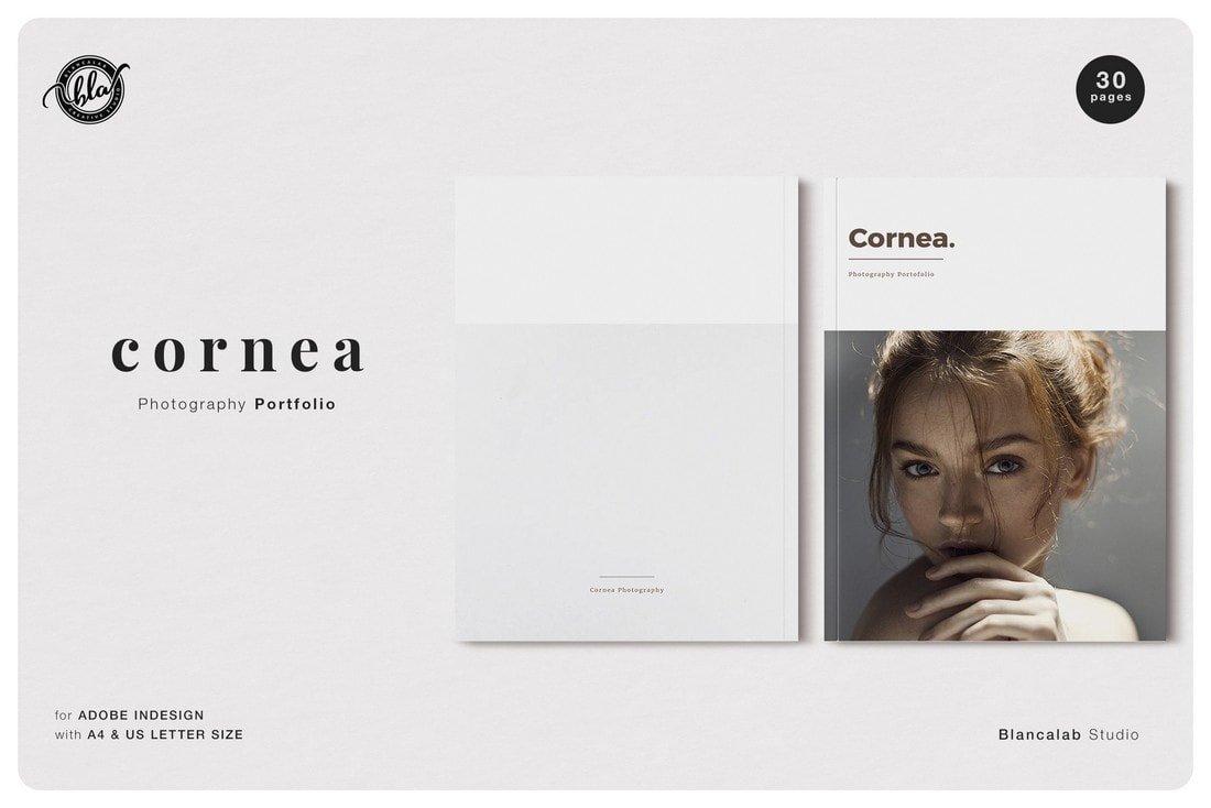 Cornea Photography Free InDesign Magazine