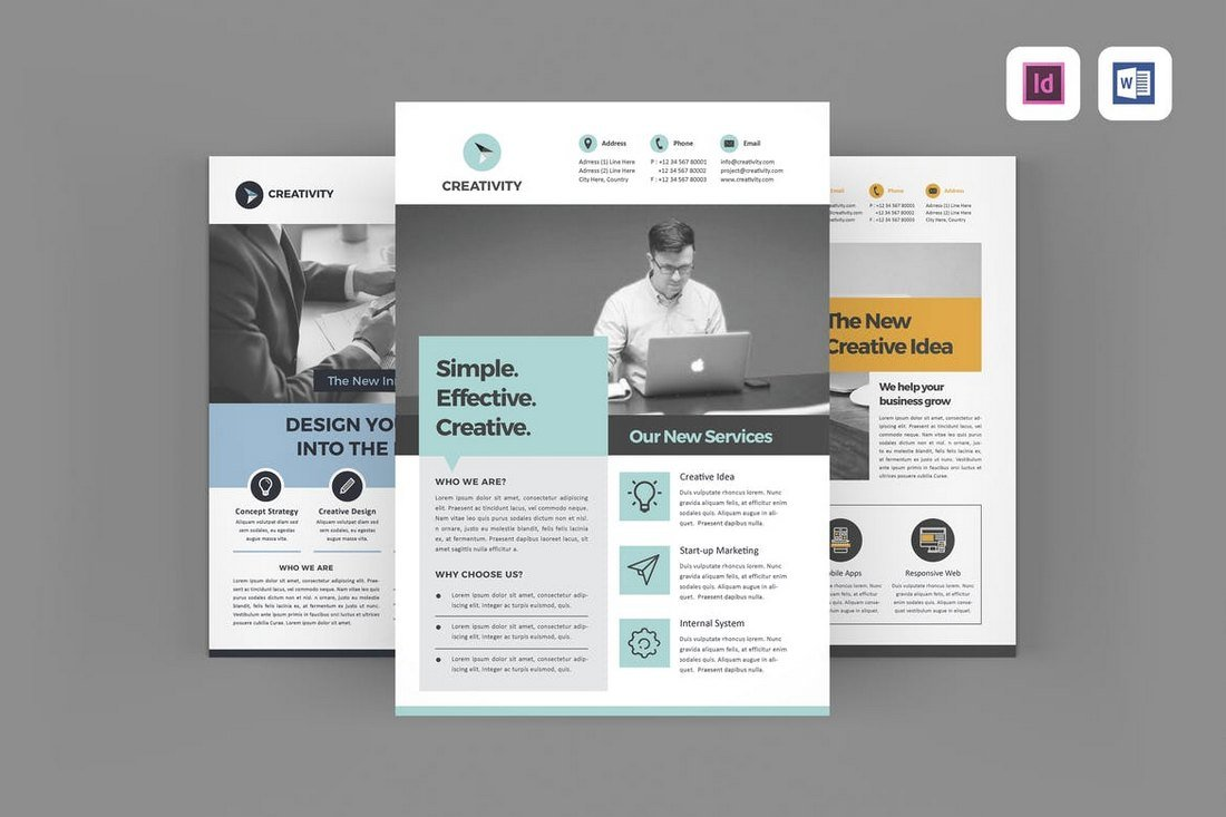Creative Business Flyers