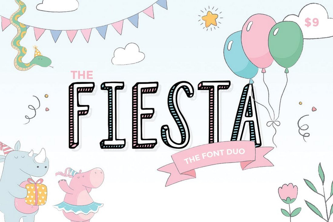 Fiesta - Creative Font Duo