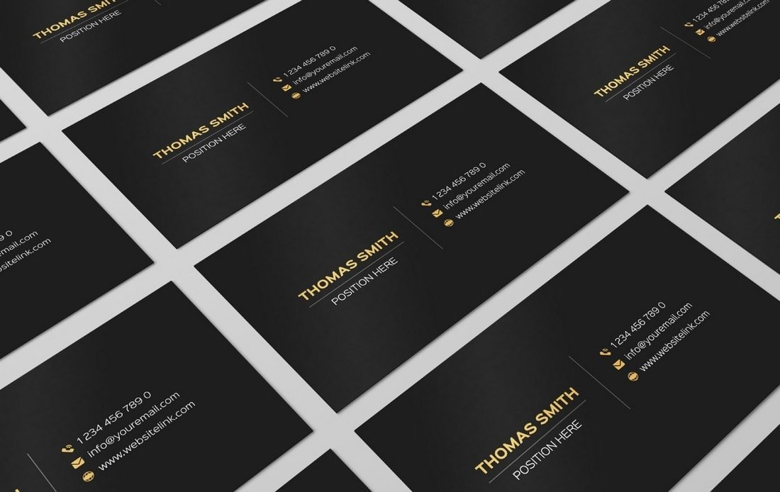 Free Affinity Publisher Business Card Template