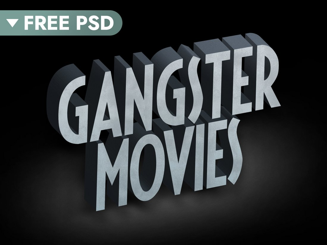 Free Old Movie Text Effect