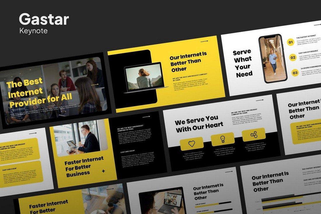 Gastar - Agency Presentation Keynote Template