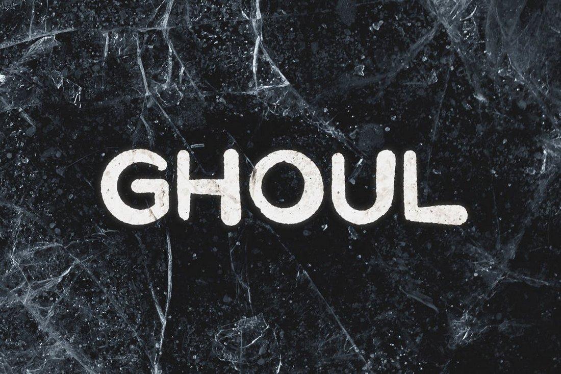 Ghoul - Spooky Halloween Font