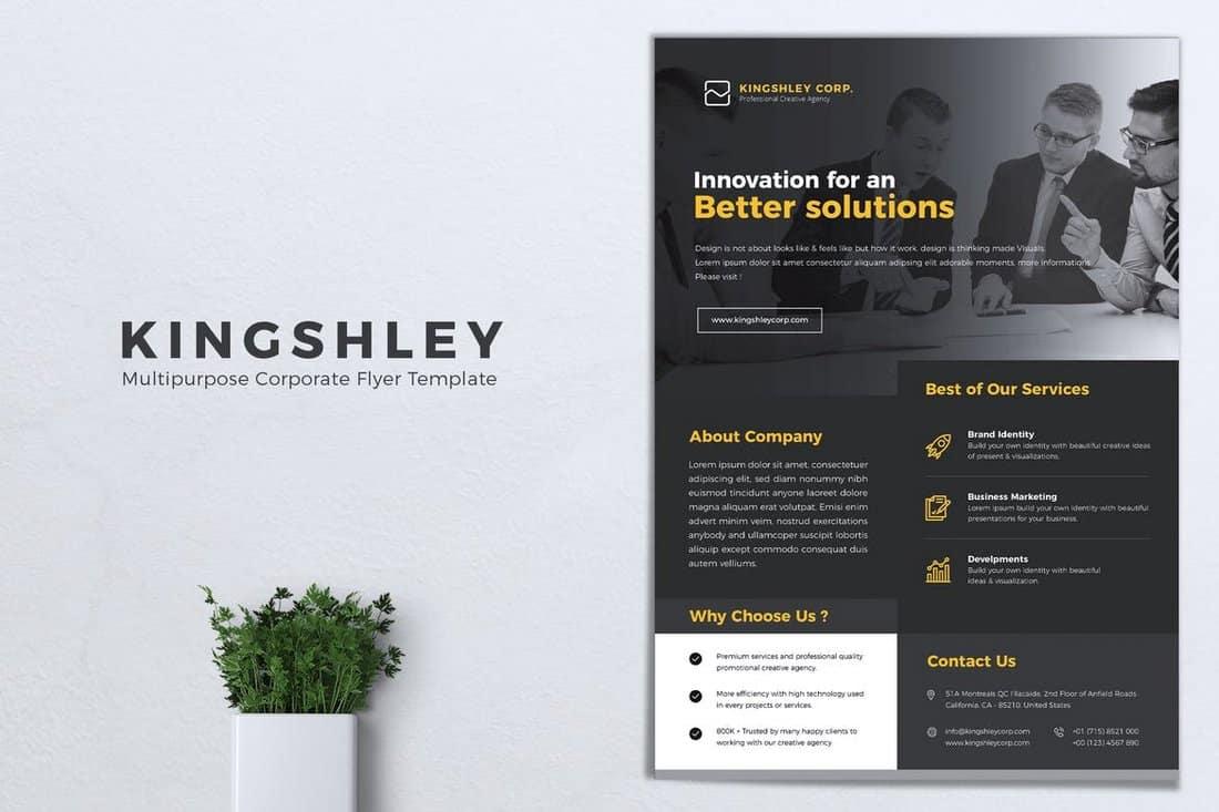 KINGSHLEY - Multipurpose Corporate Flyer