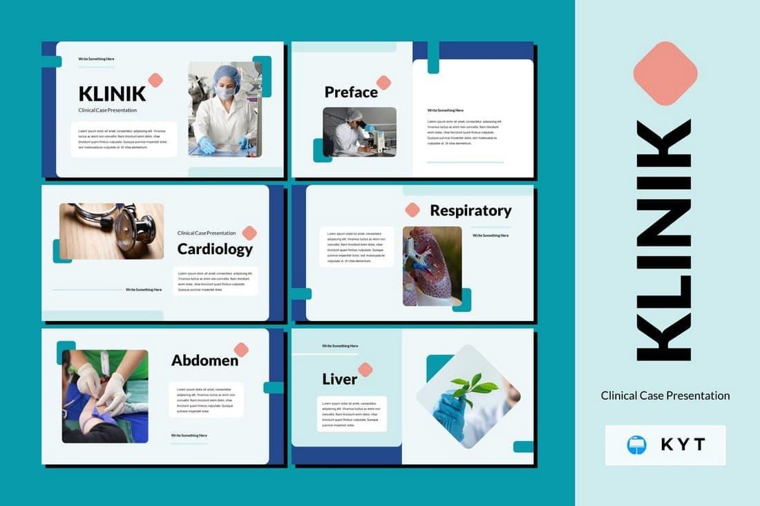 KLINIK - Clinical Case Medical Keynote Template