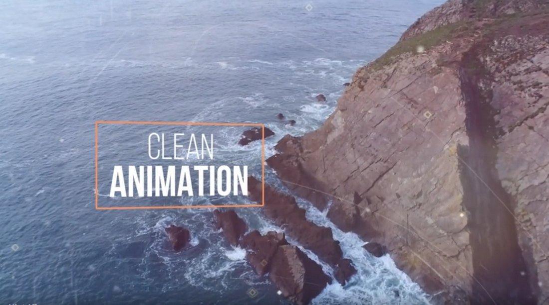 Large Title Slideshow Free Premiere Pro Template