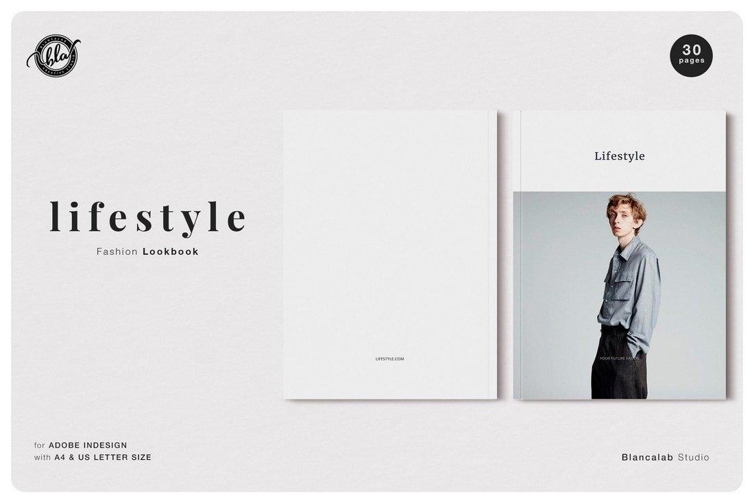 Lookbook - Free InDesign Magazine Template