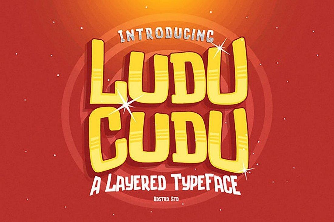 Ludu Cudu - Creative Layered Font