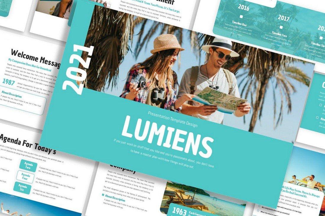 Lumiens - Business Keynote Prensentation
