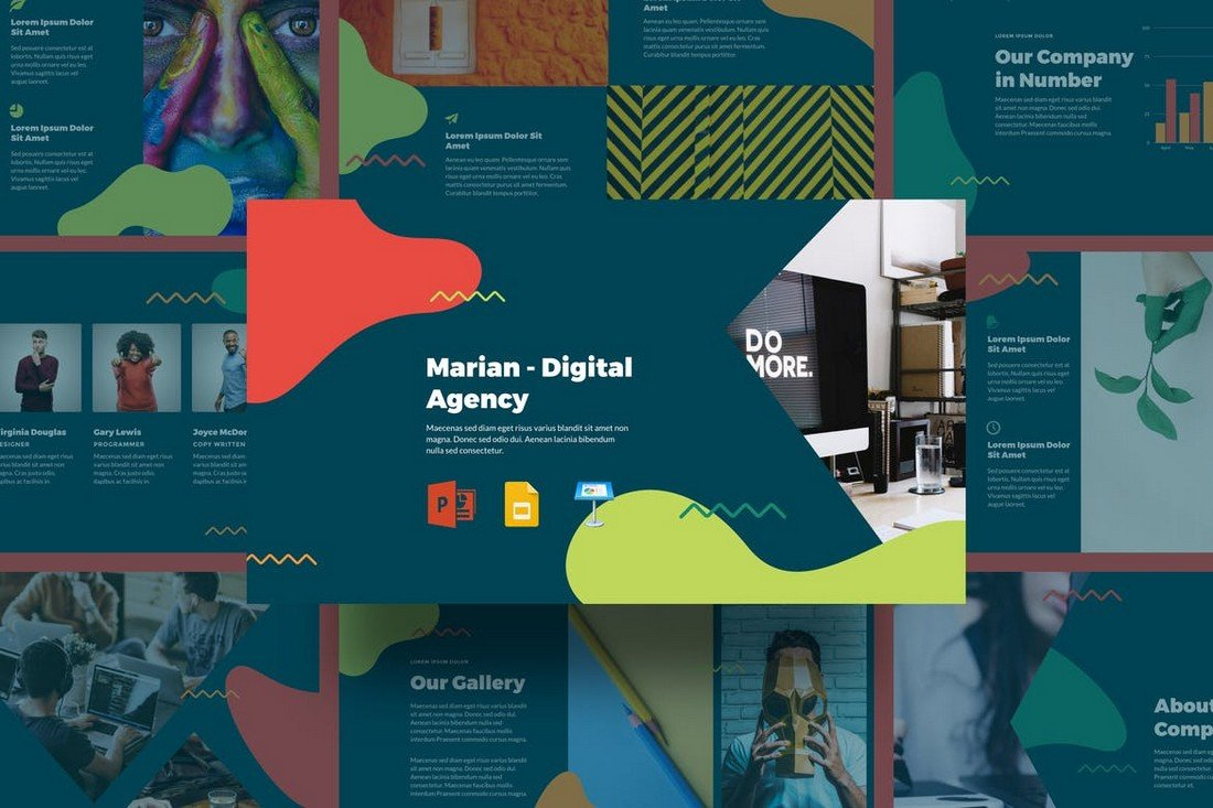 Marian - Creative Agency Keynote Template