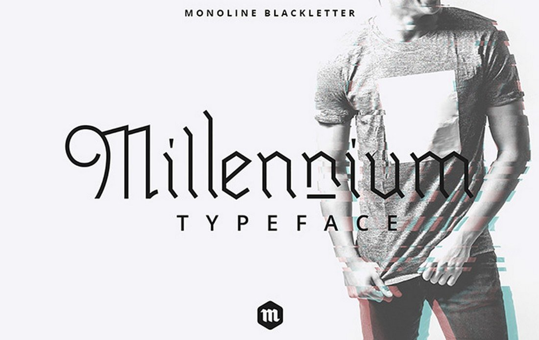 Millennium - Free Blackletter Typeface