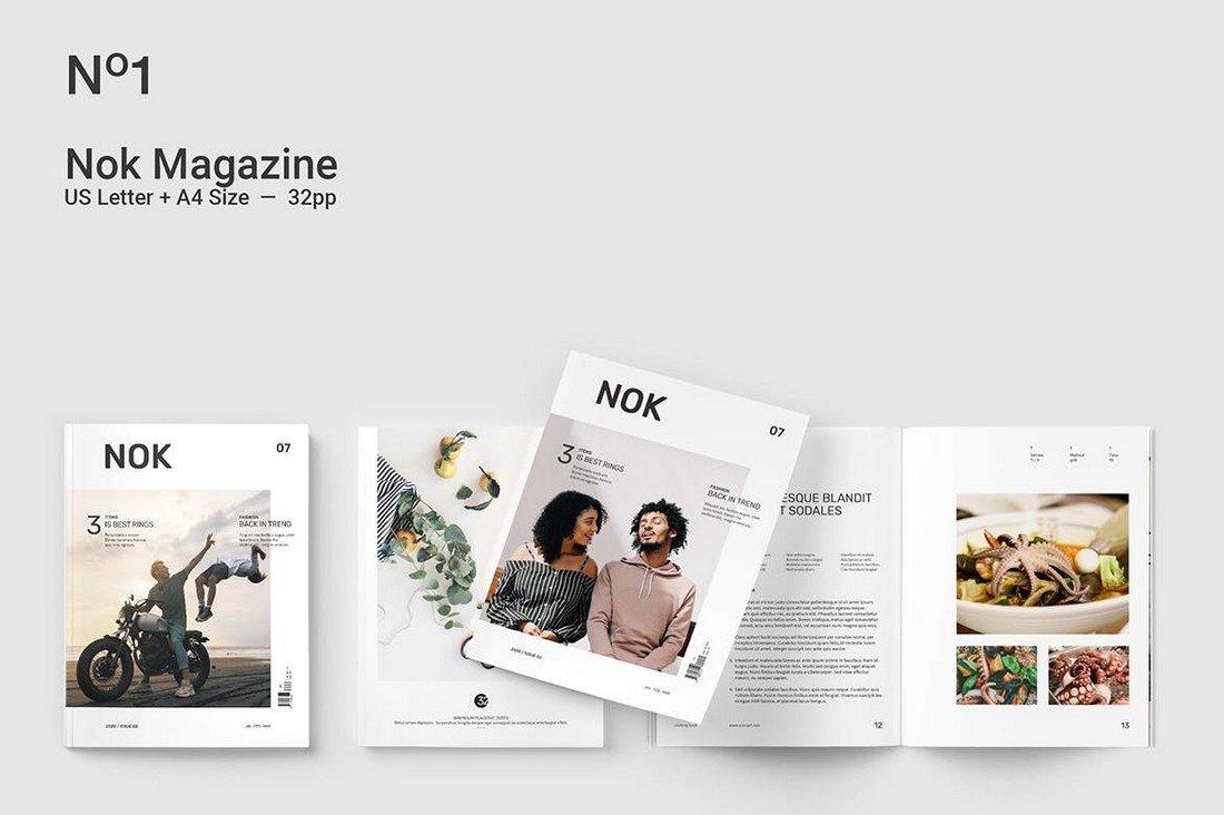 Nok Magazine - Affinity Publisher Magazine Template