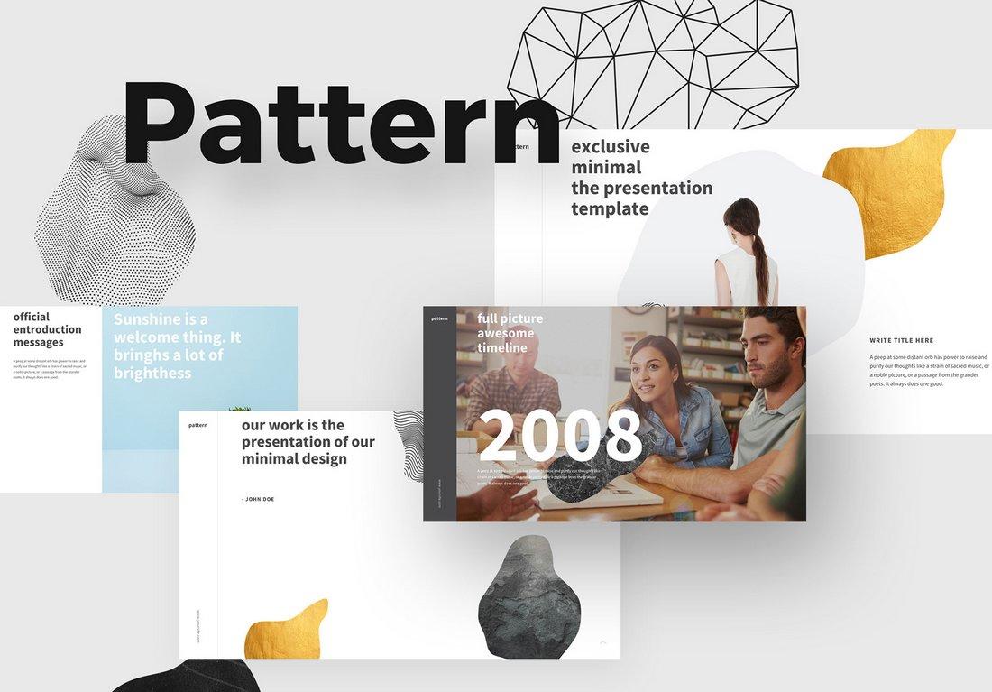 Pattern - Free Modern Keynote Template