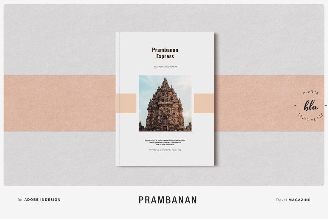Prambanan - Free InDesign Magazine Template