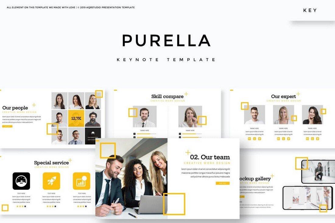 Purella - Business Keynote Template