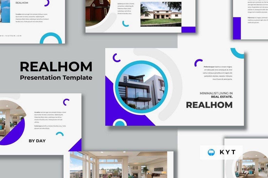 REALHOM - Real Estate Keynote Template