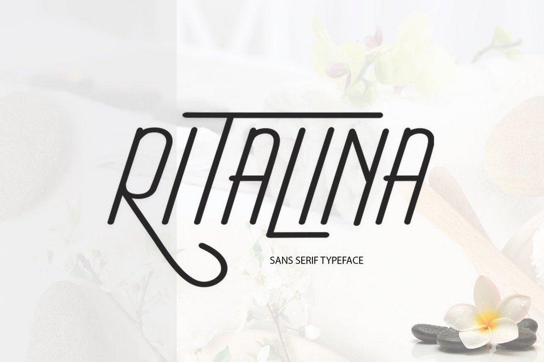 Ritalina Sans - Elegant Modern Font