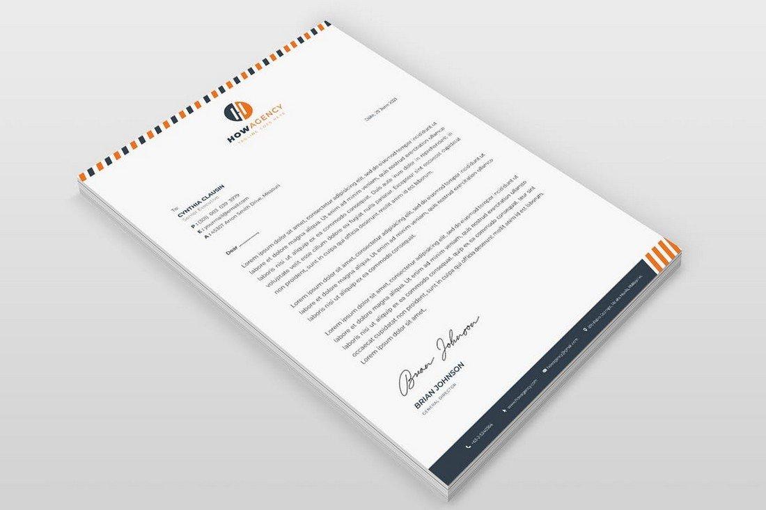 Small Business Letterhead Template