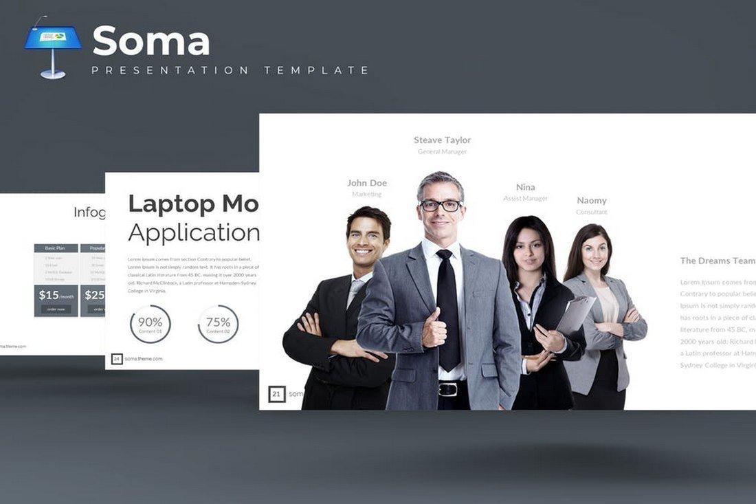 Soma - Keynote Template