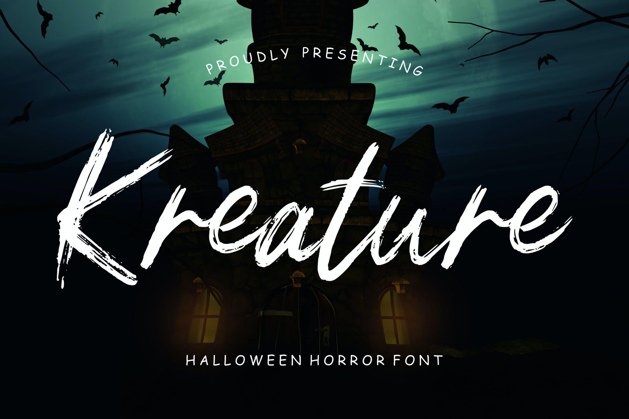 Spooky Halloween Font