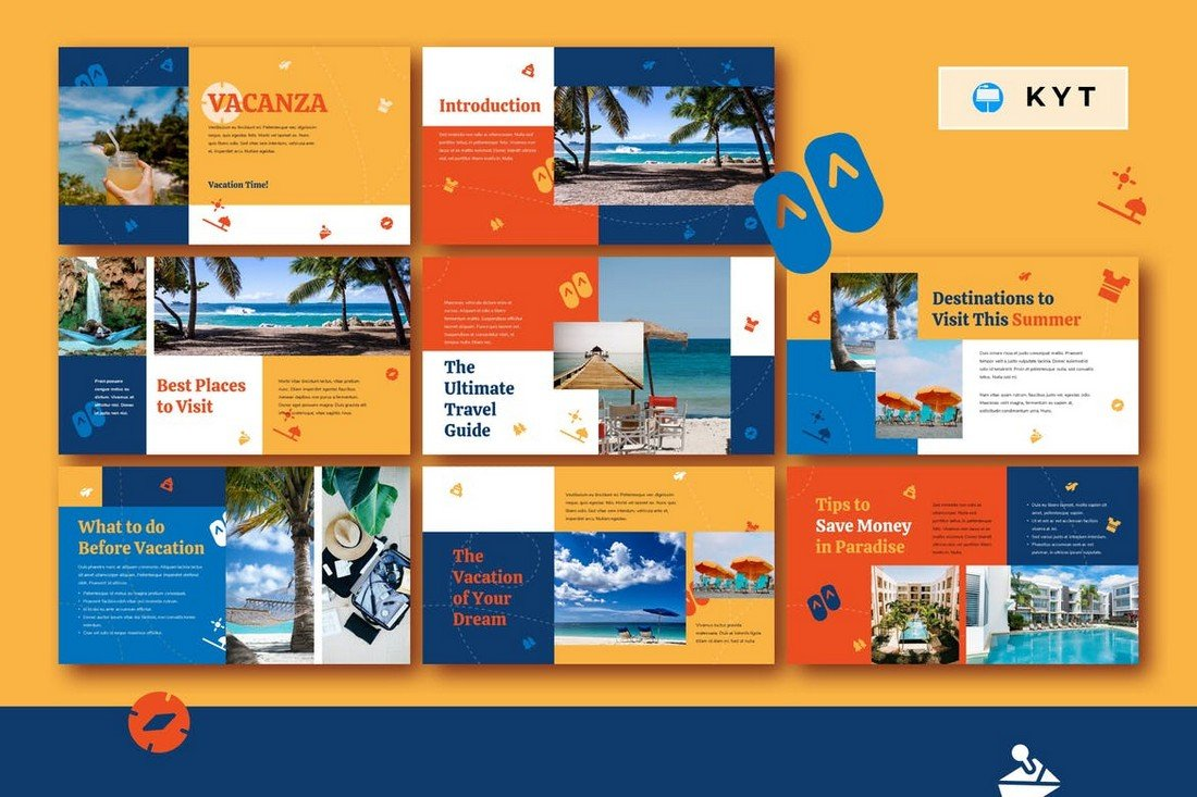 VACANZA - Creative Travel Keynote Template