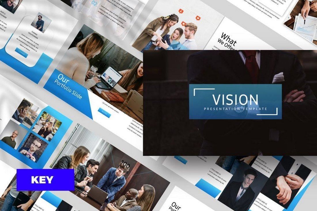 Vision Corporate Keynote Template