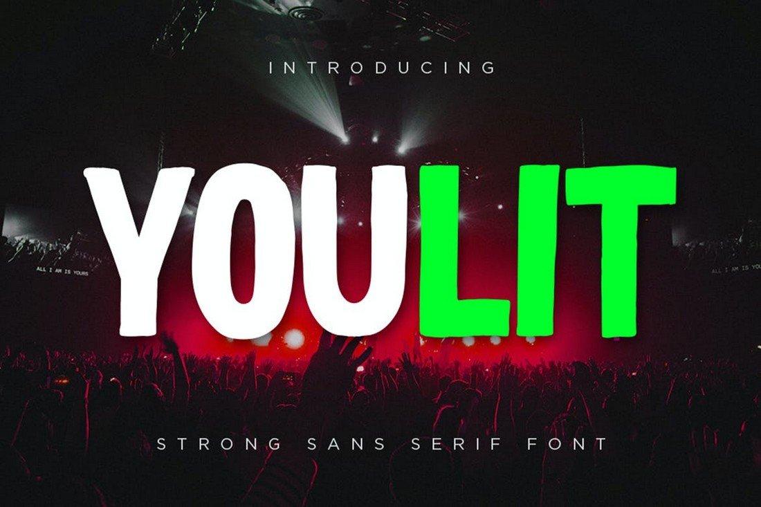 Youlit - Bold YouTube Title Font